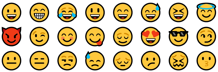 Emoji's in Google Docs